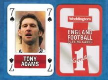 England Tony Adams Arsenal 7S